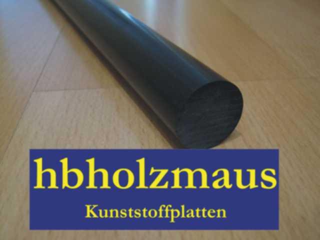 POM-C-Schwarz-Rund-25-mm-Laenge-waehlbar